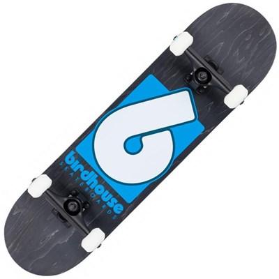 Stage 3 B Logo 8 Complete Skateboard - Black/Blue