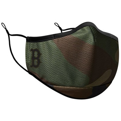 MLB Camo On Field Face Mask - Boston Red Sox