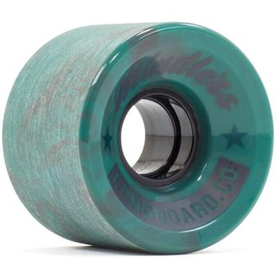 Cruiser Longboard Wheels - Swirl Teal