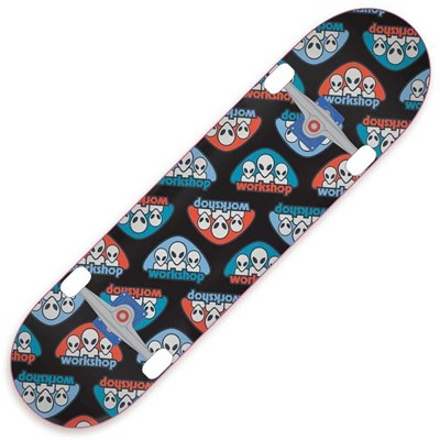 Triad Black 7.625inch Complete Skateboard