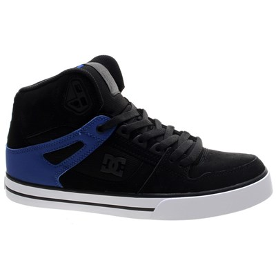 Pure High Top WC Black/Blue Shoe