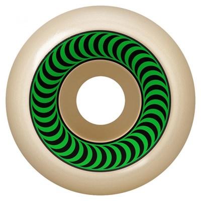 Formula Four OG Classics 99DU Natural 52MM Skateboard Wheels - Green