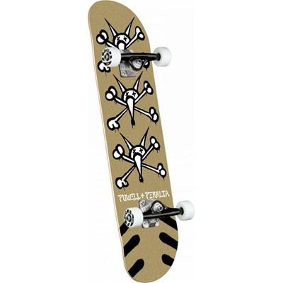 Skateboards Vato Rats #242 8inch Complete Skateboard - Gold