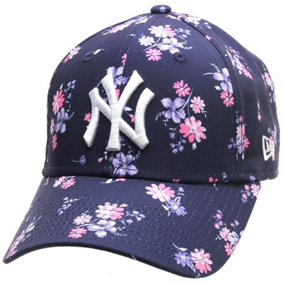 Womens Floral 9FORTY Cap - NY Yankees