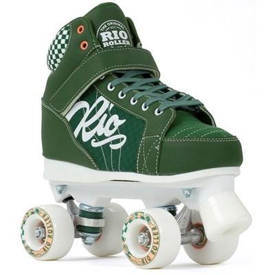 Pre Order Mayhem II Green Quad Roller Skates - Due Mid June