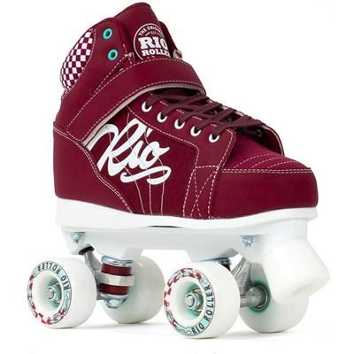 Pre Order Mayhem II Red Quad Roller Skates - Due Mid June