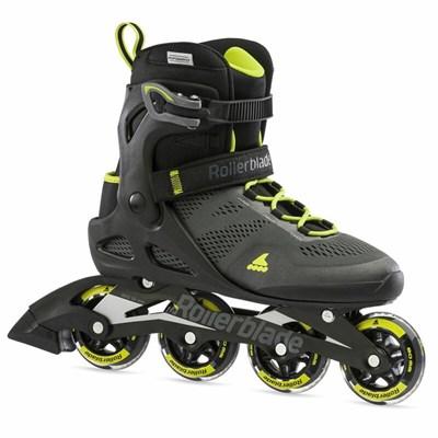 2021 Macroblade 80 Inline Skate - Black/Lime