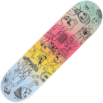 Characters 8inch Skateboard Deck