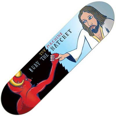 Bury the Hatchet 8inch Skateboard Deck