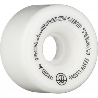 Team Logo 98a 57mm Artistic Roller Skate Wheels - White