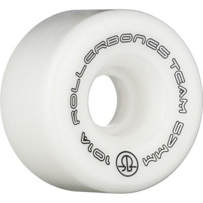Team Logo 101a 57mm Artistic Roller Skate Wheels - White
