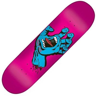 Skateboards|Skating Accessories|Skateboard Screaming Hand 7.8inch Skateboard Deck - Pink