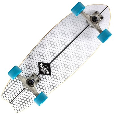MS1500 Fish Tail Complete Surfskate - White