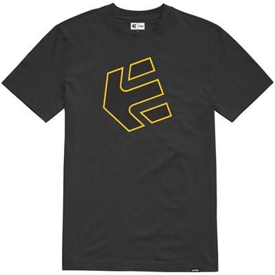 Crank S/S T-Shirt - Black/Yellow
