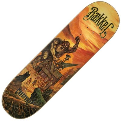 Skateboards Baekkel Decimate 8.6inch Pro Deck - Orange