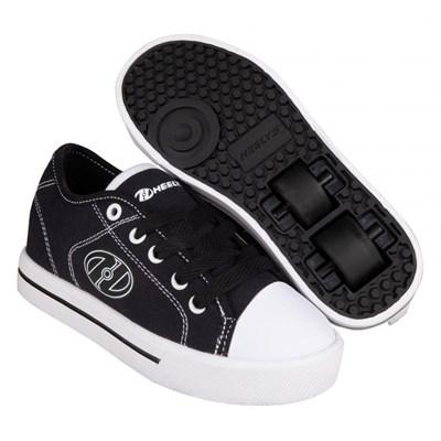 Classic Black/White Kids HX2 Heely Shoe