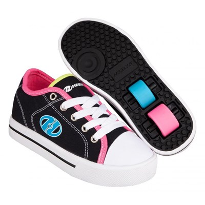 Classic Black/Multi Kids HX2 Heely Shoe