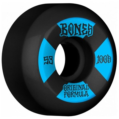 100's #4 V5 Sidecut 53mm Black Wheels