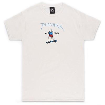 Gonz S/S T-Shirt - White/Multi