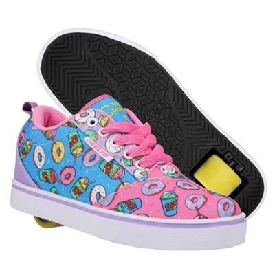 Heelys X Simpsons Pro 20 Pink/Lavender/ Powder Blue Kids Heely Shoe