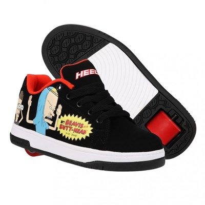 Heelys X Beavis and Butthead Split Black/Red Adult Heely Shoe