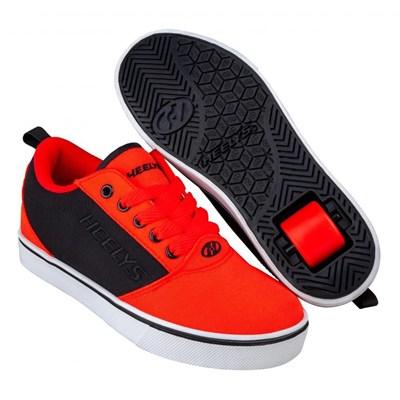 Pro 20 Red/Black Kids Heely Shoe