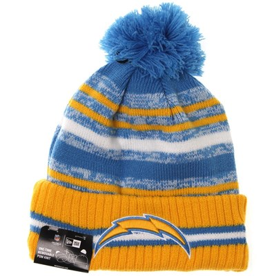 NFL Sideline Knit 2021 Home Game Beanie - Los Angeles Chargers