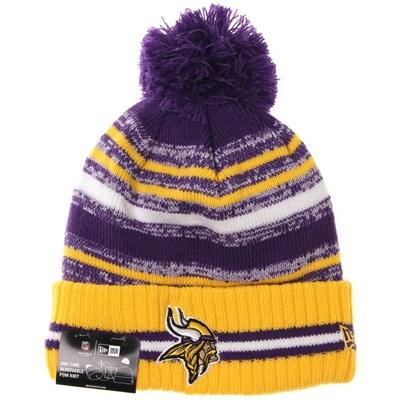NFL Sideline Knit 2021 Home Game Beanie - Minnesota Vikings