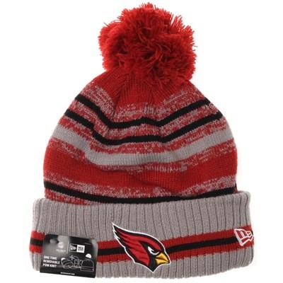 NFL Sideline Knit 2021 Grey Beanie - Arizona Cardinals