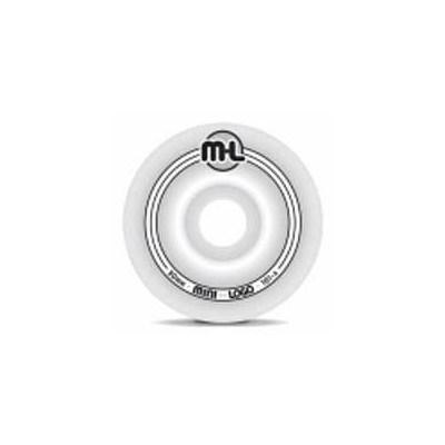 Mini Logo Wheel - White