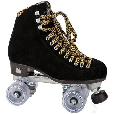 Panther Quad Roller Skates - Black