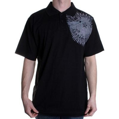 Dizzy S/S Polo Shirt - Black
