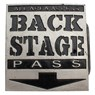 Back Stage Pass Buckle