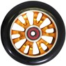 Vicious Extruded CNC 110mm Scooter Wheel Including Bearings - Orange/Black