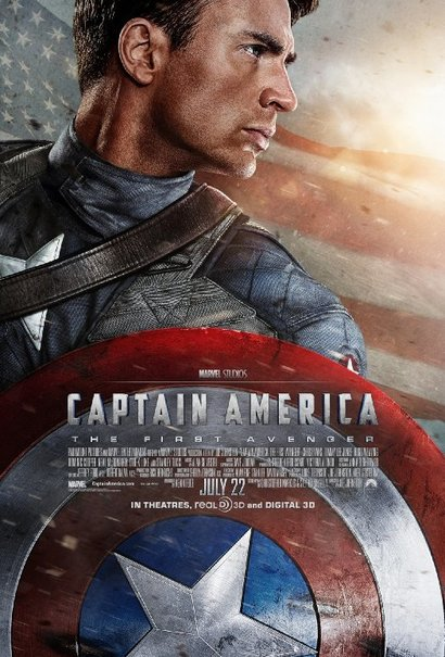 Medium captain amercia