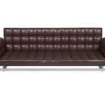 Hip Props - Bruno Rainaldi Boss sofas in brown leather - Kays
