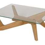 Hip Props - Matthew Hilton Cross coffee table in oak - Kays