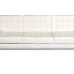 Hip Props - Robin Day Club sofas in white leather - Kays