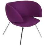 Hip Props - Rene Holten Pinq chairs in purple fabric - Kays
