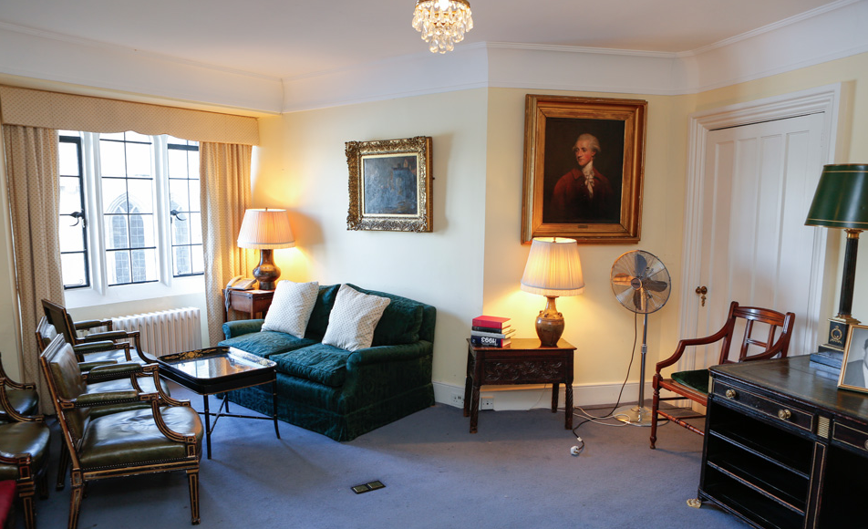 Chairman's Study - Crew Green Room