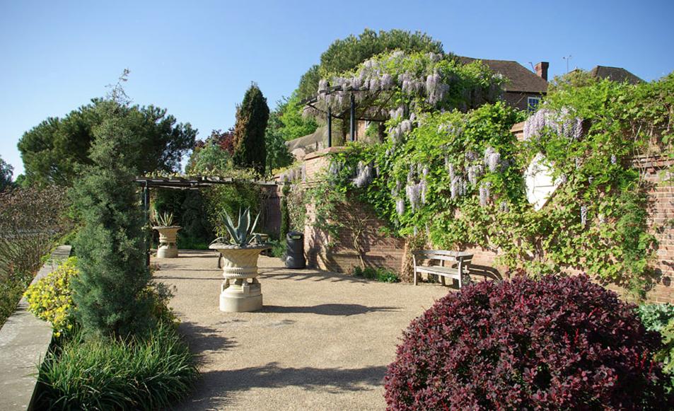 The Lady Baillie Mediterranean Garden Terrace