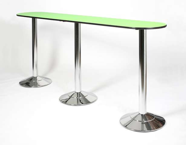 Europa International Trade Show Event Furniture Cheshire - Long bar table with stools