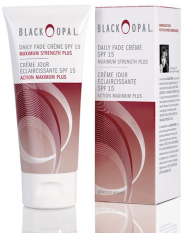 Black opal daily fade creme spf15 maximum strength plus