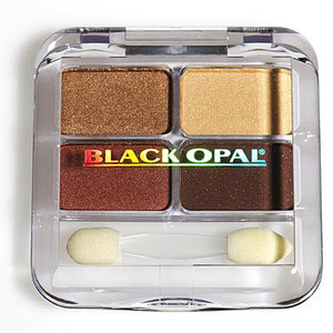 Black opal eye shadow golden sunset kit