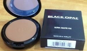 Black opal ultra matte fix powder