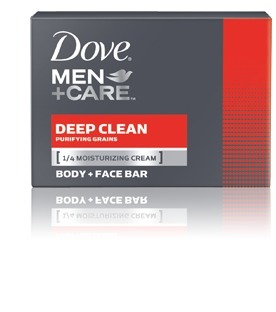 Dove body and face bar soap