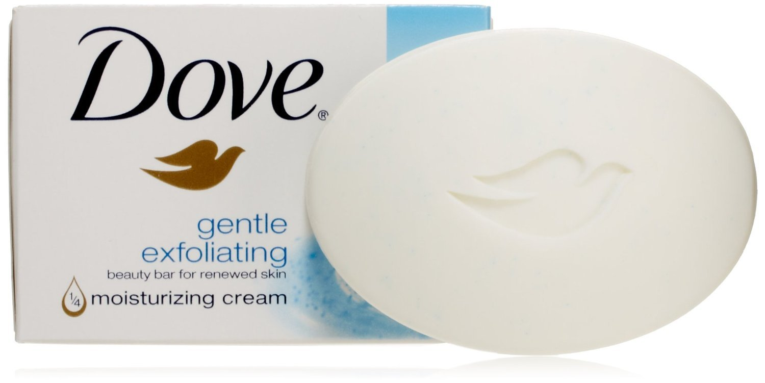 Dove gentle exfoliating beauty bar soap