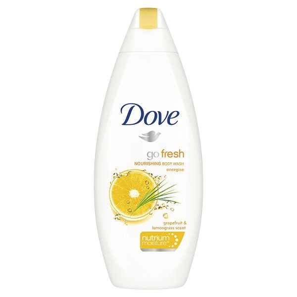 Dove go fresh grapefruit and lemongrass body wash 473ml