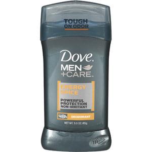 Dove men care energy spice deodorant