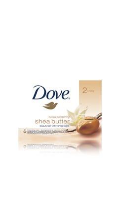 Dove shea butter with warm vanilla beauty cream bar